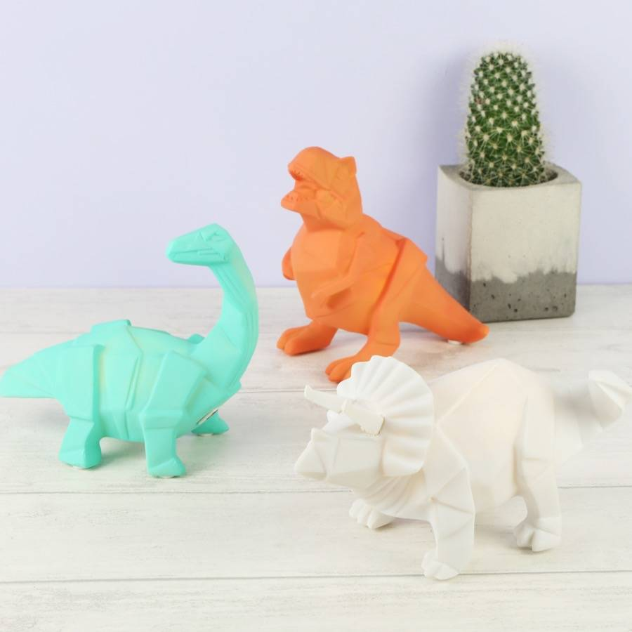 Mini LED Origami Dinosaur Night Light