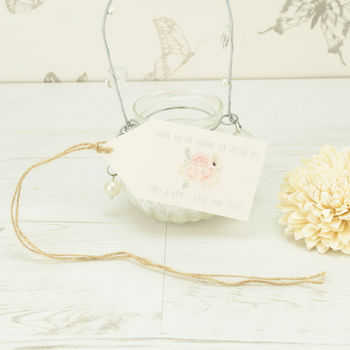 Personalised Charlotte Favour Tag
