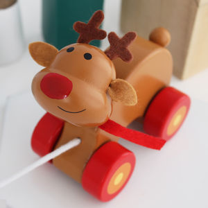 Reindeer Pull Along Toy
