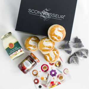 Cream Tea And Scones Gift Box - hampers