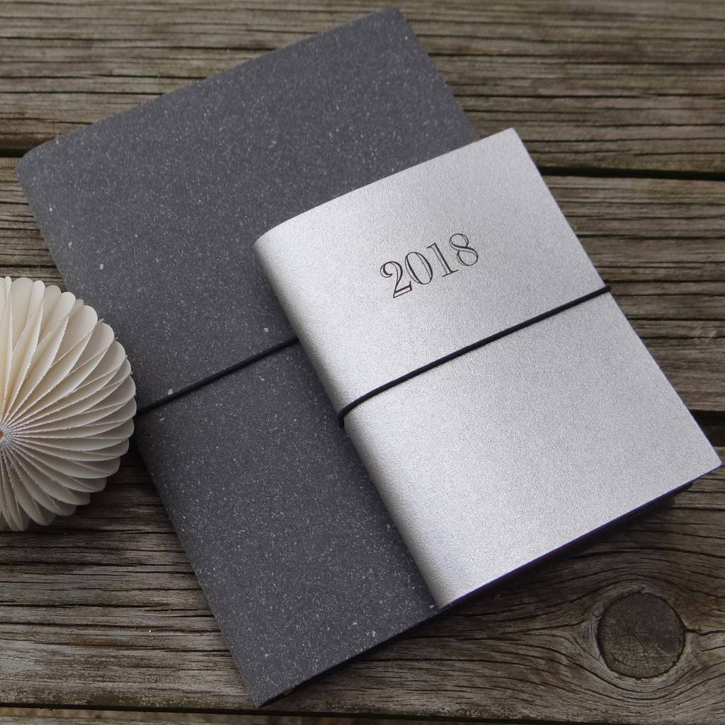 2018 Leather Diary