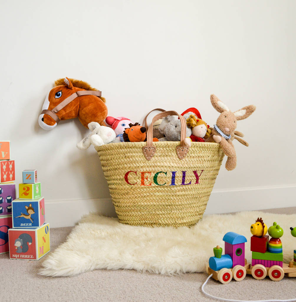 Children S Toy Storage Basket By Roam Devon Notonthehighstreet Com