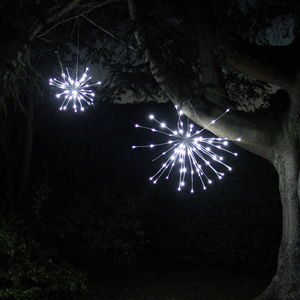 White Sparkle Ball LED Light - lights & lanterns