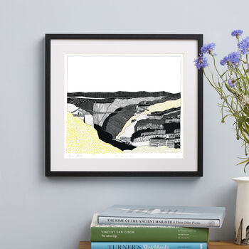 Bristol Clifton Suspension Bridge Screen Print