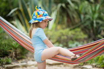Childrens Bonnet Sun Hat With Bow