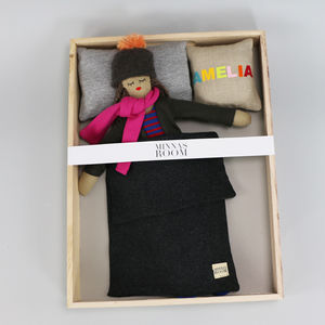Handmade Doll With Clothes And Bedding - gifts: £25 - £50