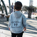 Personalised Superhero Academy Zip Up Hoody