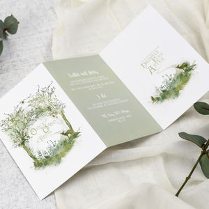 'Fairy Tale' Wedding Invitations - wedding stationery
