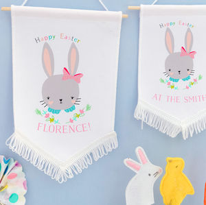 Easter Hanging Decoration Banner 'Sweet flo' - easter decorations