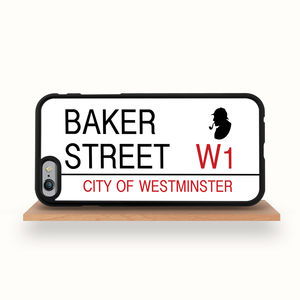 'Baker Street' Sign iPhone Case For All Models