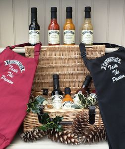 Luxury Chilli Hamper With Apron - food hampers
