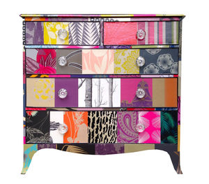 Patchwork Chest Of Drawers - bedroom
