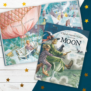 Personalised 'Seven Ways To Catch The Moon' Story Book