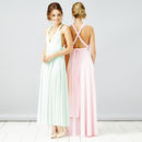 Multi Way Maxi Length Bridesmaid Dress