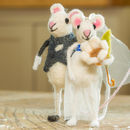 Just Married Wedding Mice