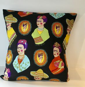 Frida Kahlo Fantastico Cushion Cover - living room