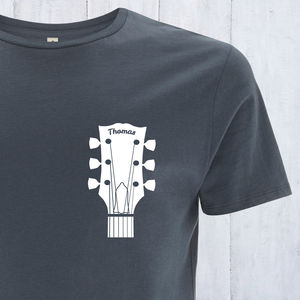 Personalised Guitar T Shirt