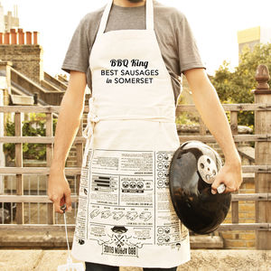 Personalised Barbecue Apron - new in home