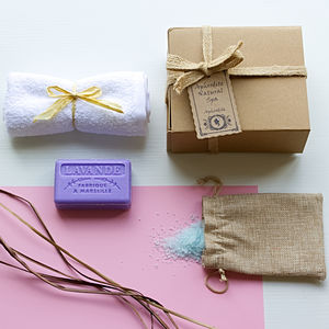 'Hesperia' Lavender Aromatherapy Mini Spa Gift Set - bath & body