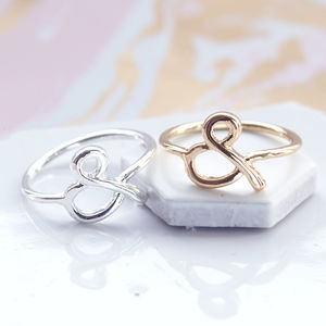 Ampersand Ring - jewellery gifts for friends