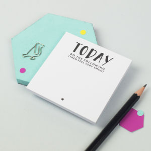 'Today… Feel Very Smug' Sticky Notes