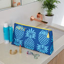 Personalised Pineapple 'Big Trip' Wash Bag