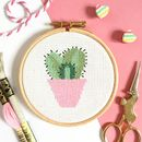 Cactus Cross Stitch Kit