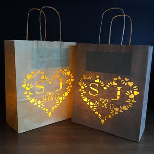 First Anniversary Paper Lantern Personalised