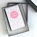 Personalised Unicorn Passport Case