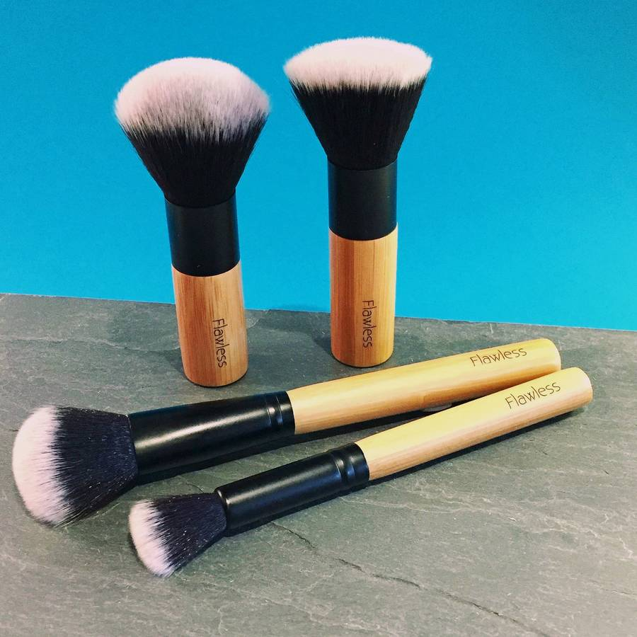 Professional Makeup Brush Set Flawless Glow