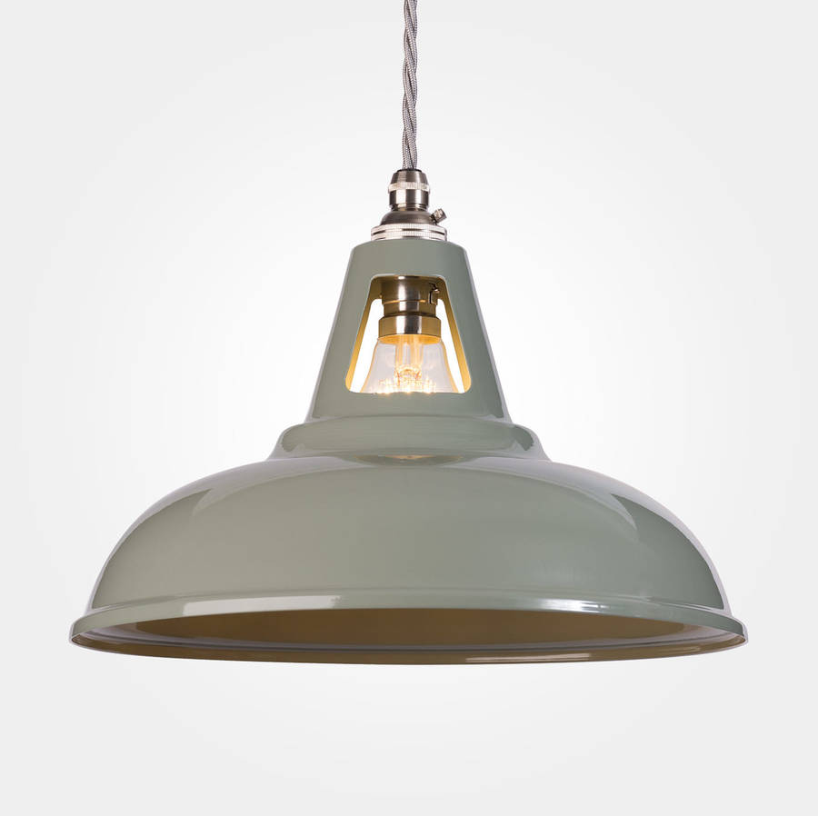 Coolicon Industrial Pendant Light Powder Coated By