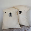 Polar Bear Cushions Set