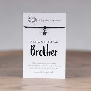 Little Wish 'Brother' Star Wish Bracelet - view all new