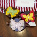 Butterfly Leather Hair Slide