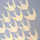 Birds Flying In Print For Bird Lover