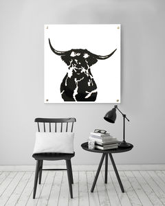 Mable Moo Acrylic Artwork - animals & wildlife