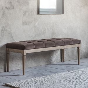 Mink Velvet Ottoman - view all new