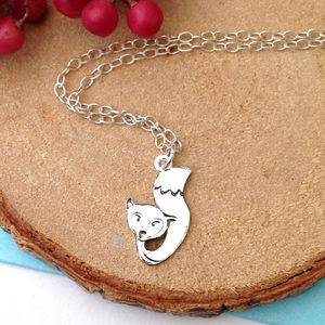 Fox And Tail Necklace
