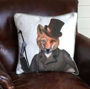 Fox Bounder Decorative Cushion - cushions
