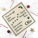 Personalised Pets Christmas Eve Box
