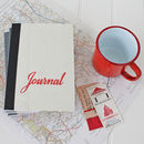 Vintage Map Travel Journal