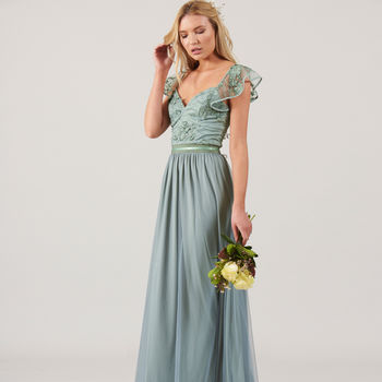 Charo Embellished Maxi Dress