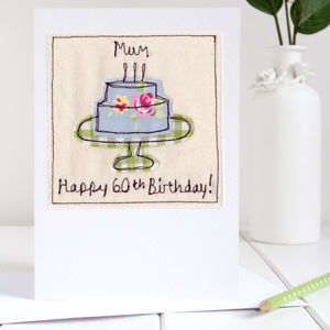 Personalised Birthday Cake Card - 1st birthday cards