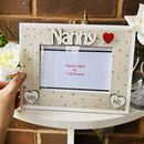 Personalised Nanny Photo Frame Mother's Day