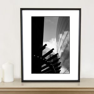 Architecture In The Sky, London Photographic Art Print