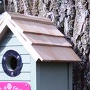 Green Personalised Birdhouse For Her