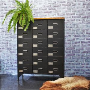 18 Drawer Apotecaire Cabinet Chalkboard - furniture