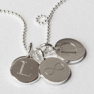 Sterling Silver Engraved Necklace - necklaces & pendants