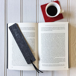 Wool Felt Personalised Bookmark