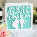 'The New Mr And Mrs' Personalised Card